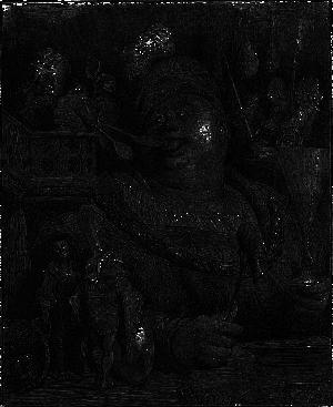 Одна из десятков иллюстраций Гюстава Доре к «Гаргантюа и Пантагрюэлю»