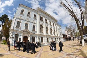 Презентация новых залов в Музее Коваленко в Краснодаре ©Фото Елены Синеок, Юга.ру