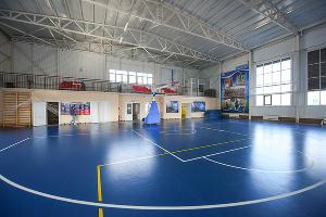 Спорткомплекс «Юниор» в школе № 1 в Тбилисской ©Фото Елены Синеок, Юга.ру