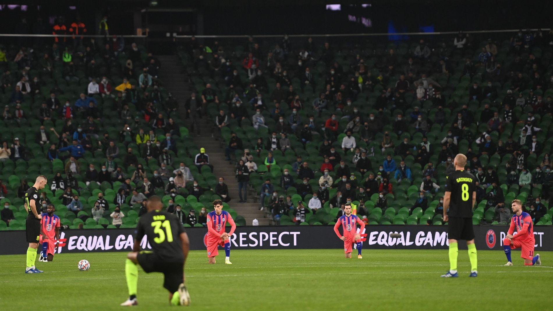 Матч «Краснодар» — «Челси», Краснодар, 28 октября 2020 года ©Фото twitter.com/futebolnomundo