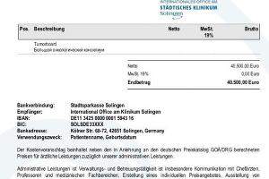 Ответ из клиники St?dtischen Klinikum Solingen (Германия) ©Юга.ру