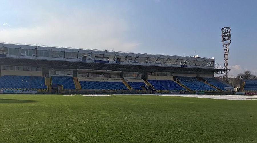 Стадион «Олимп-2» ©Фото из фоициального аккаунта ФК «Ростов» в Twitter, twitter.com/rostovfc