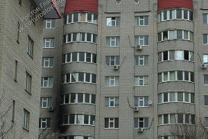 Горевший дом  ©Фото из группы vk.com/rostovnadonu