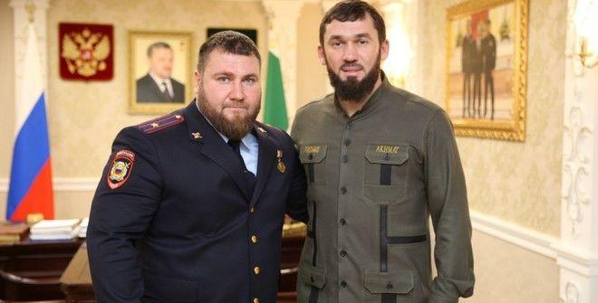 Тамерлан Мусаев и Магомед Даудов ©Фото со страницы Магомеда Даудова во «ВКонтакте»