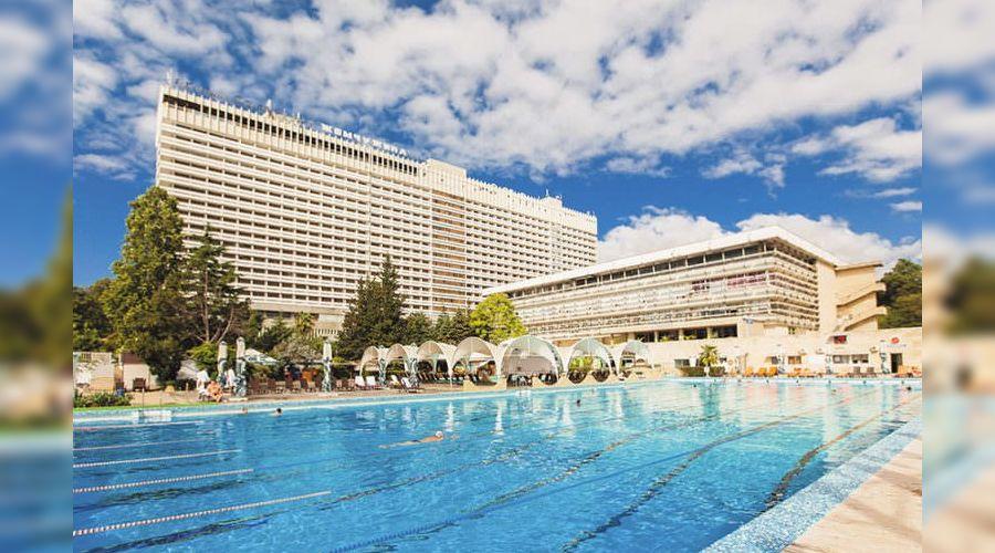 Отель «Жемчужина» в Сочи ©Фото пресс-службы администрации Сочи