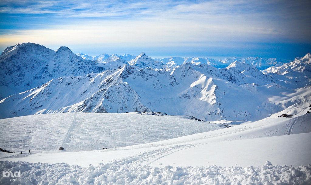 Вгорах Сочи заодну ночь выпало 40 сантиметров снега