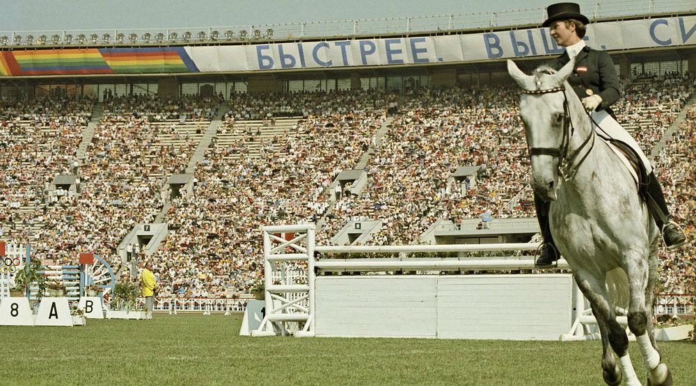 Элизабет Тойрер на Олимпиаде 1980 года ©Фото ru.wikipedia.org