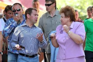2011 год в фотографиях. Дмитрий Медведев посетил Анапу ©http://www.yuga.ru/photo/822.html