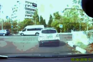 ©Скриншот видео из группы «Новороссийск ДТП», vk.com/nvrsk_road