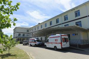 Шовгеновская районная больница ©Фото пресс-службы Республики Адыгея