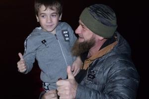Рахим Куриев и Рамзан Кадыров ©Фото со страницы instagram.com/rahimkurievvazaev