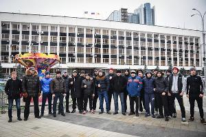 """Ник Мороз и Лига любителей бокса """"отстояли"""" тренировочный зал в Краснодаре ©Елена Синеок, ЮГА.ру"""