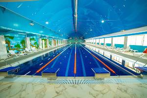 Бассейн плавательного центра ©Фото с сайта anji-arena.ru