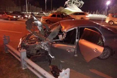 Шофёр  Тоёта  пострадал вДТП сГАЗелью натрассе Ростов-Батайск
