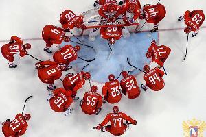 Сборная России по хоккею ©Фото из группы vk.com/fhr