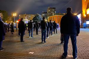 Пасхальная служба-2020 в Храме Рождества Христова в Краснодаре ©Фото Валерии Дульской, Юга.ру
