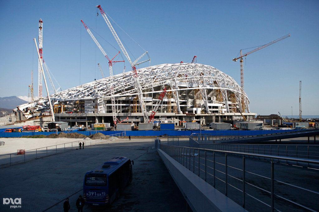 дорогу строители олимпийских объектов в сочи фото которые приведем пример