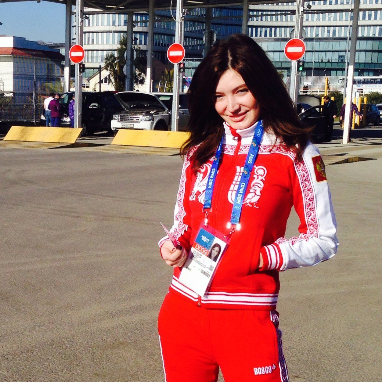 Анна Долуда ©Фото из твиттер-аккаунта Анны Долуды