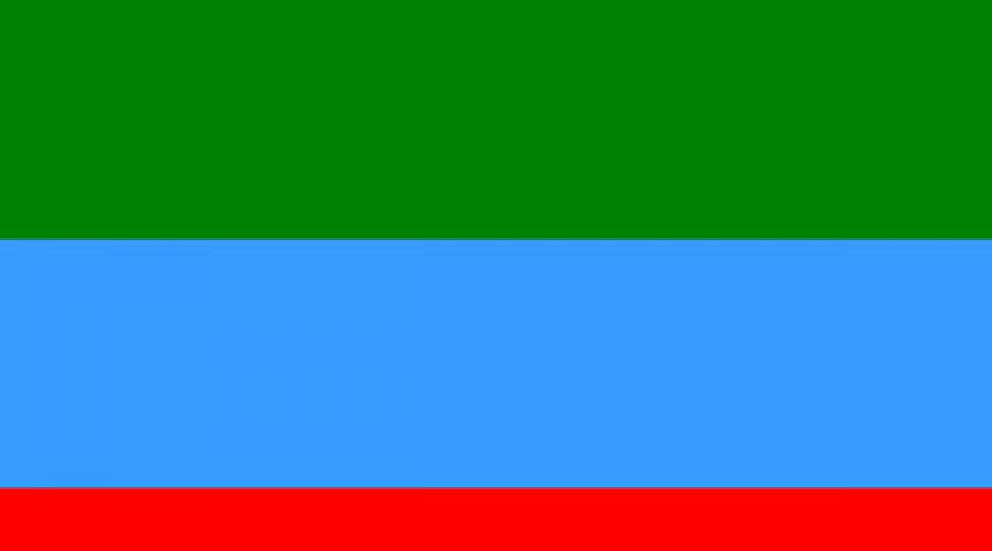 Флаг Дагестана ©Фото Юга.ру