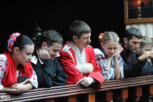 В Краснодаре приготовили самый большой вареник в России ©Елена Синеок. ЮГА.ру