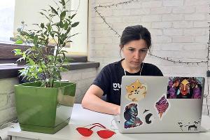 Заира Залексон, редактор Курортов Юга.ру ©Фото Никиты Быкова, Юга.ру
