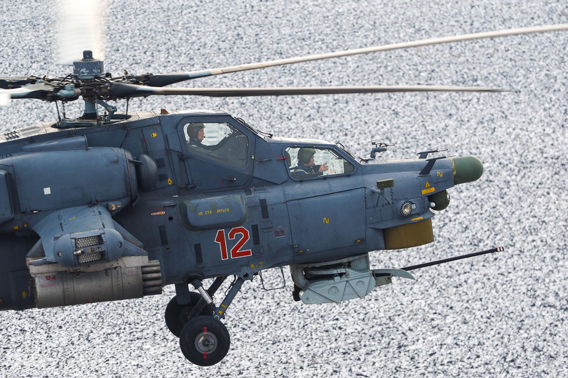 Вертолет Ми-28Н «Ночной охотник» ©Виталий Тимкив, Юга.ру