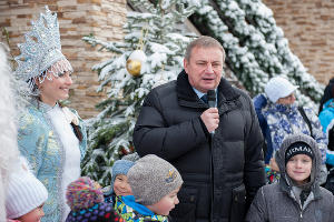 Открытие зимнего курортного сезона в Сочи ©нина Зотина. ЮГА.ру