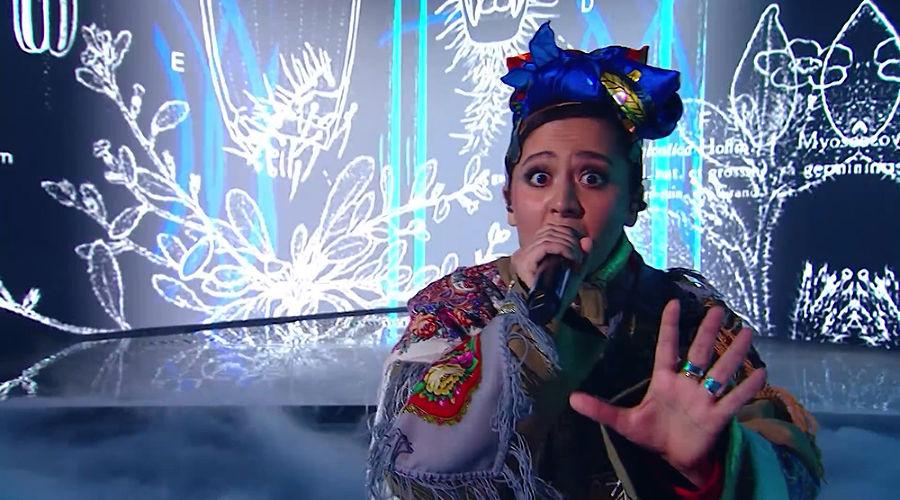 Манижа ©Кадр из видео канала Eurovision Song Contest на Ютубе, youtube.com/EurovisionSongContest