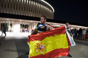 Сборная Испании обыграла Тунис в товарищеском матче в Краснодаре ©Фото Елены Синеок, Юга.ру