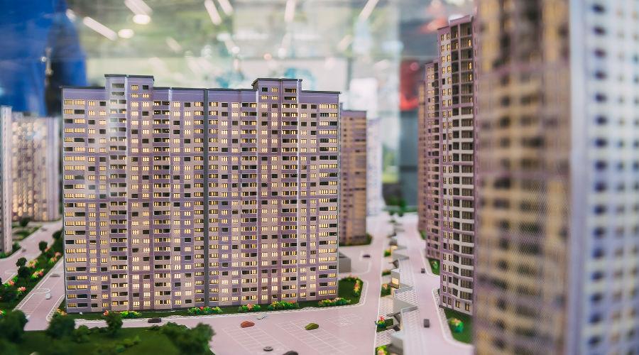 Макет жилищного комплекса «ЮгСтройИмпериал» ©Фото пресс-службы Сбербанка
