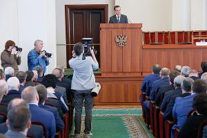 Представление нового главы Краснодарского края Вениамина Кондратьева ©Фото Юга.ру