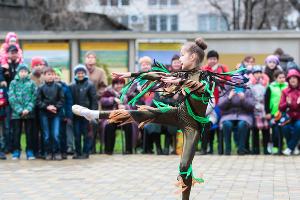 Масленица в Труновском районе Ставропольского края ©Эдуард Корниенко, ЮГА.ру