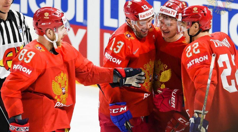 Сборная России по хоккею ©Фото с сайта fhr.ru