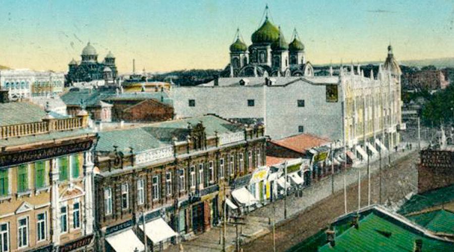 Вид с балкона Зимнего театра ©Фото Юга.ру