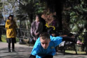 "Акция ""Каждому сочинцу – олимпийское здоровье"" в Сочи  ©Нина Зотина, ЮГА.ру"