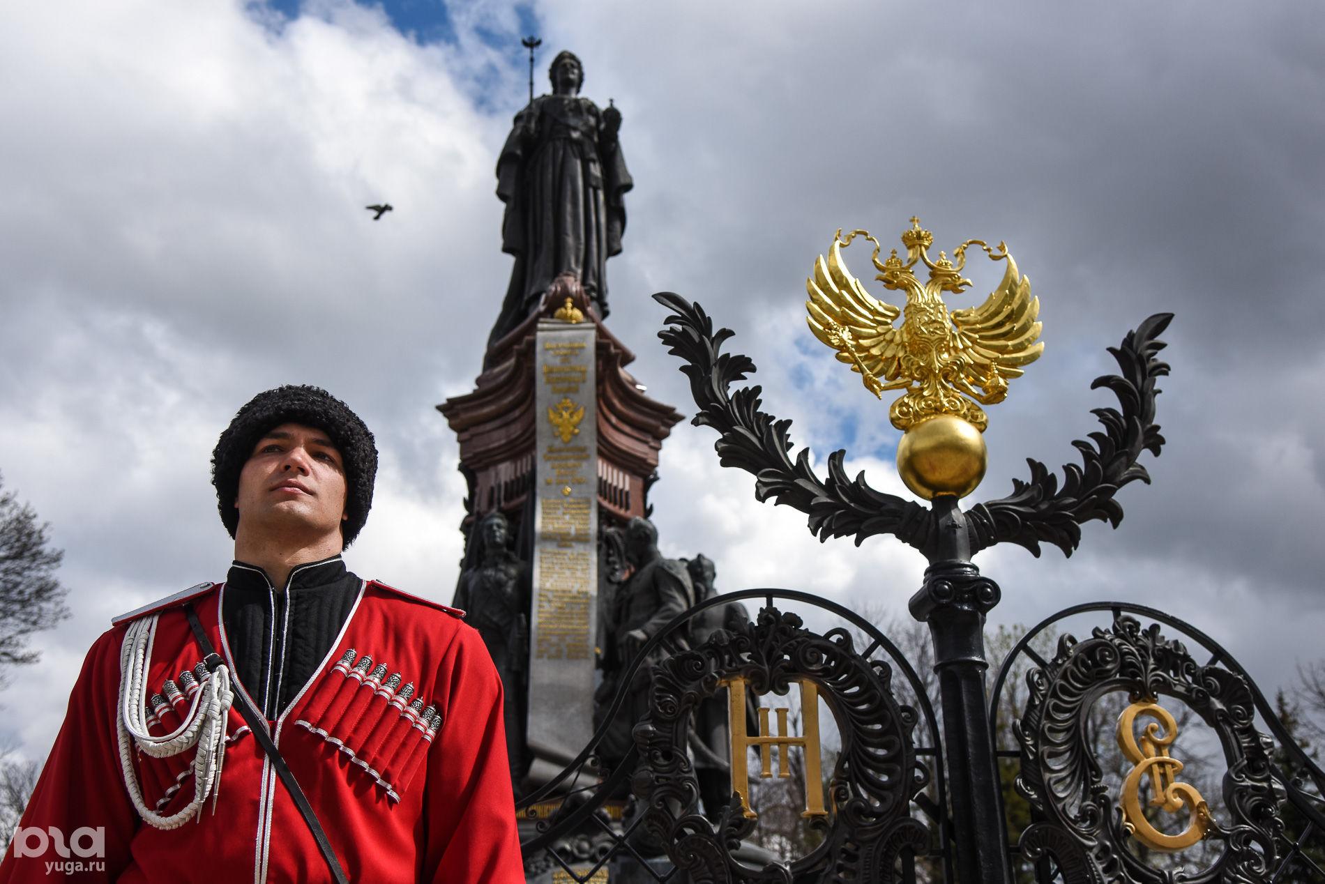 Памятник Екатерине II ©Елена Синеок, ЮГА.ру