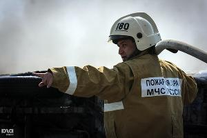 Пожар ©Елена Синеок. ЮГА.ру
