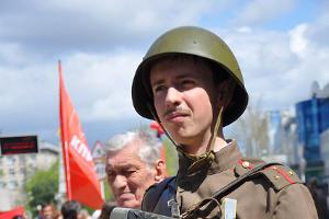 Демонстрация коммунистов в Краснодаре 1 мая ©Фото Юга.ру