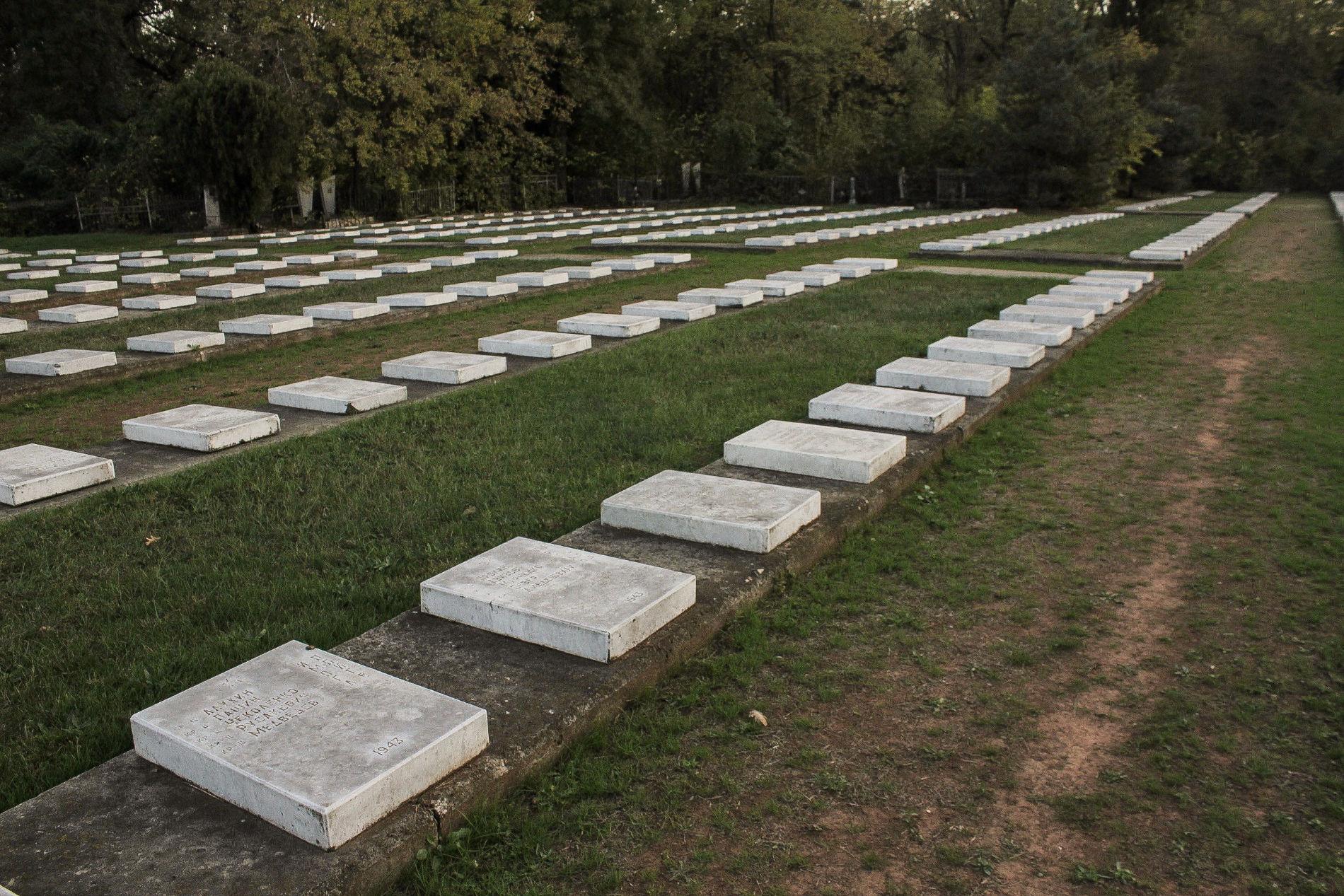 Более половины захороненных здесь солдат не опознаны ©Фото Динара Бурангулова, Юга.ру