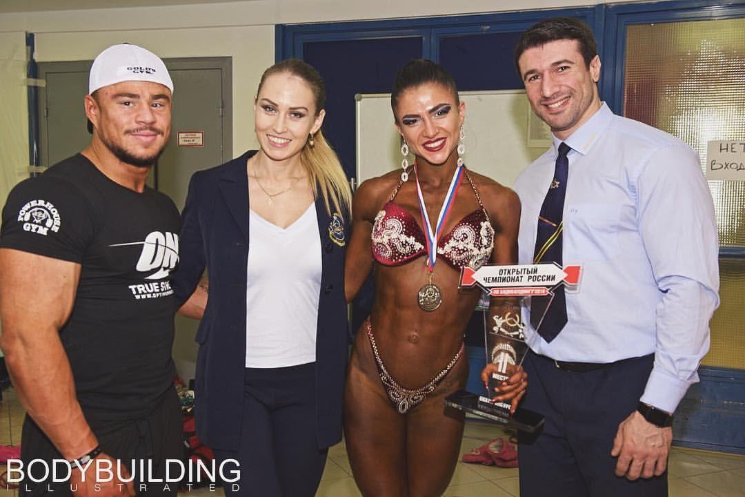 Жительница Новосибирска стала чемпионкой РФ пободибилдингу