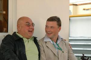 Владимир Долинский и Илья Носков. Фото: Виктор Зайковский ©Фото Юга.ру