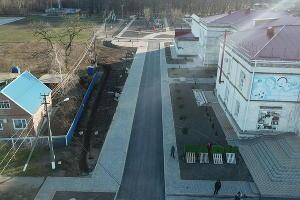 Ремонт парка и дома культуры Тбилисском районе ©Фото пресс-службы Тбилисского района