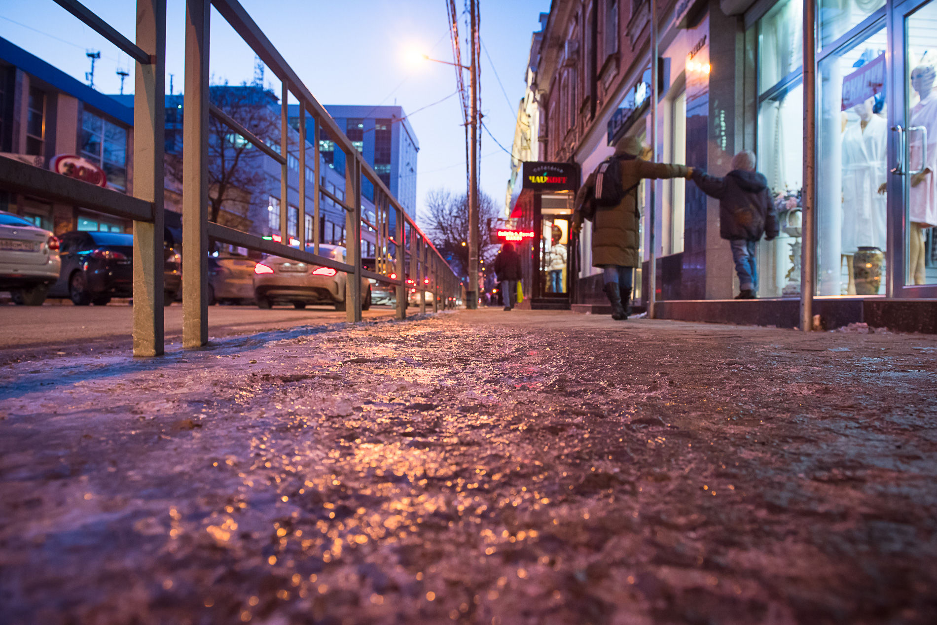 ВКраснодаре задва дня 62 человека получили травмы из-за снега