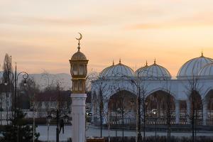 Мечеть «Гордость мусульман» в городе Шали ©Фото Елены Синеок, Юга.ру