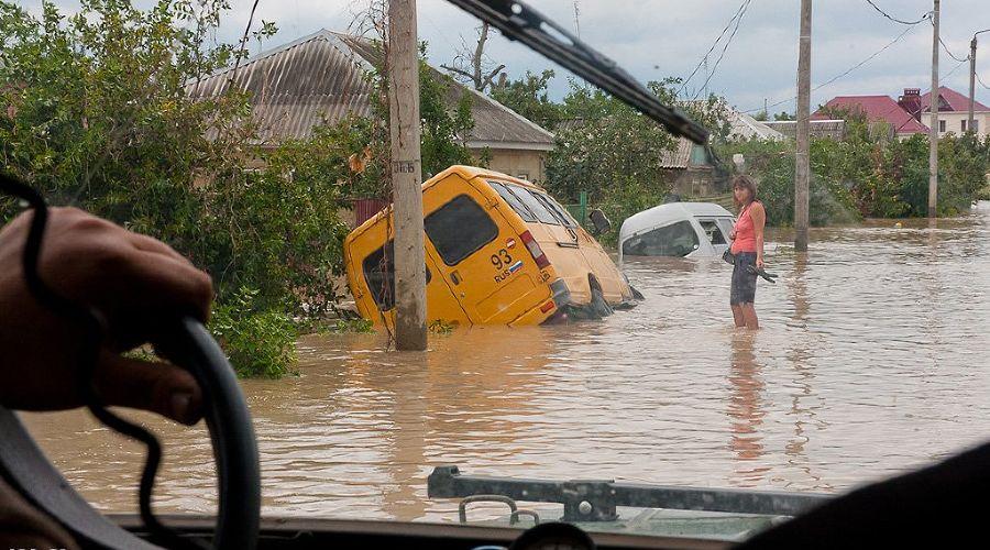 Наводнение в Крымске. 7 июля ©Владимир Котельников