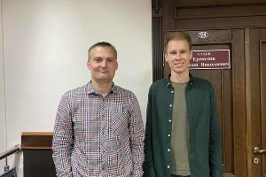 Адвокат Михаил Беньяш и Денис Ночёвка ©Фото из фейсбука Михаила Беньяша, www.facebook.com/mbenyash