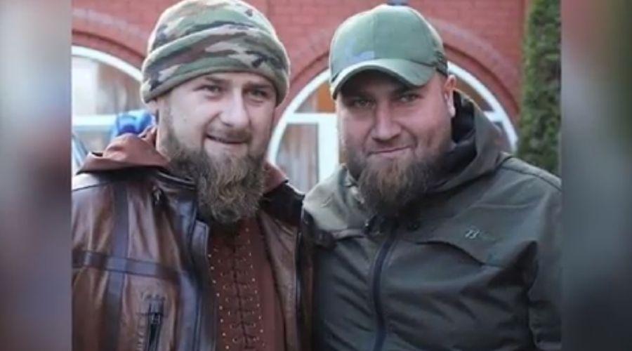 Рамзан Кадыров и Тамерлан Мусаев ©Скриншот видео на странице instagram.com/lord_095