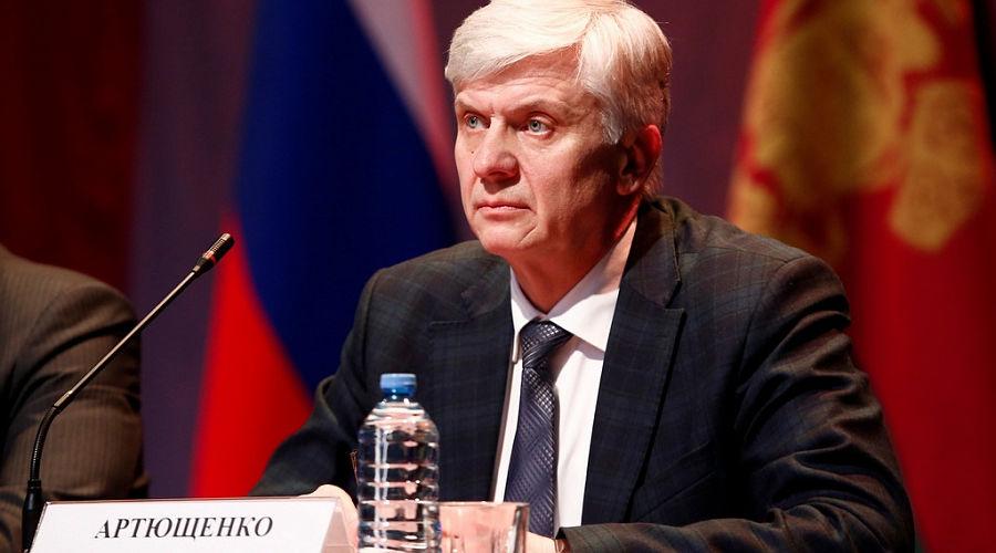 Николай Артющенко  ©Фото пресс-службы администрации Краснодарского края