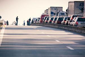 Дорожный затор ©Фото с сайта pixabay.com