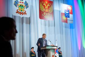 Александр Ткачев на инаугурации мэра Сочи Анатолия Пахомова ©Фото Юга.ру